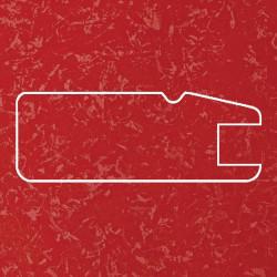 Профиль МДФ 1820  красный шёлк KIRMIZI 5030