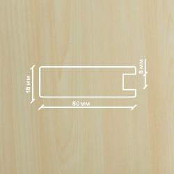 Профиль МДФ 1845  клён  Ванкувер A.AGAC 1010