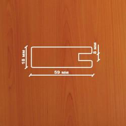 Профиль МДФ 1850  груша  ARMUT 1030
