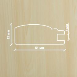 Профиль МДФ 2220  клён  Ванкувер A.AGAC 1010
