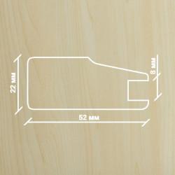 Профиль МДФ 2230  клён  Y.A.AGAC 2010