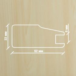 Профиль МДФ 2230  клён  Ванкувер A.AGAC 1010