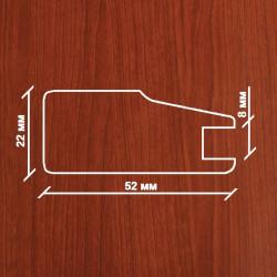 Профиль МДФ 2230  яблоня HUS 1060