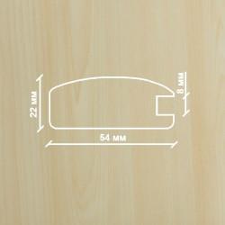 Профиль МДФ 2240  клён  Ванкувер A.AGAC 1010