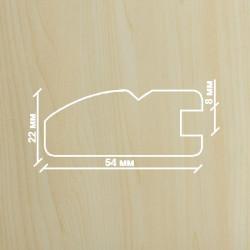 Профиль МДФ 2250  клён  Y.A.AGAC 2010