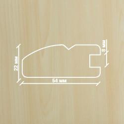 Профиль МДФ 2250  клён  Ванкувер A.AGAC 1010
