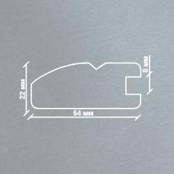 Профиль МДФ 2250  титан GUMUS 4040