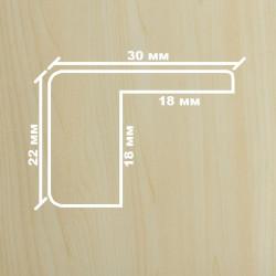 Профиль МДФ 2280  клён  Y.A.AGAC 2010