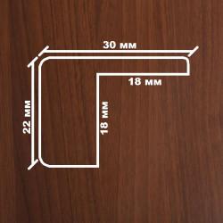 Профиль МДФ 2280  орех темный K.CEVIZ 1080