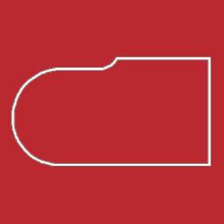 Профиль МДФ ТО20  красный глянец 6030