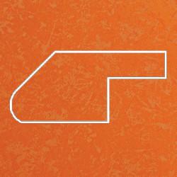 Профиль МДФ ТО30  оранжевый шёлк TURUNCU 5040