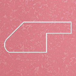 Профиль МДФ ТО30  розовый шёлк PEMBE 5090