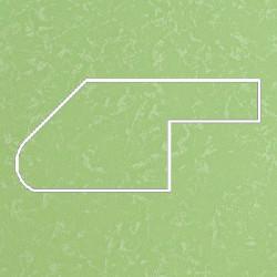 Профиль МДФ ТО30  салатовый шёлк YESIL 5050