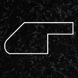 Профиль МДФ ТО30  черный шёлк SIYAH 5100