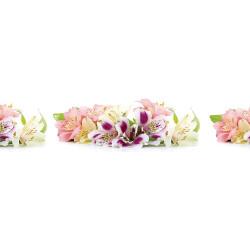 МДФ глянец стен. влагоустойч. 2800х600х6    Цветы  (SP 046)