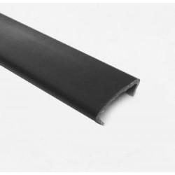 С Профиль 16 мм однотонный черный
