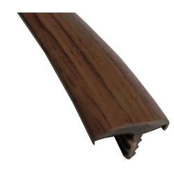 Профиль ТП-32 мм орех темный (орех венге Т-32)