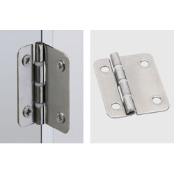 Средняя петля для складной двери металл                         Hettich (1022834)
