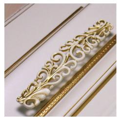 Ручка-скоба 96 мм белое золото   SANTA                   SETE    (RM-SANTA096-31)
