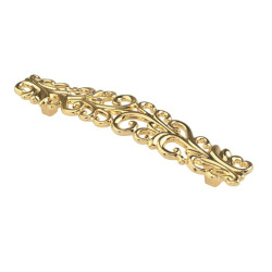 Ручка-скоба 128 мм золото SANTA                   SETE    (RM-SANTA128-03)