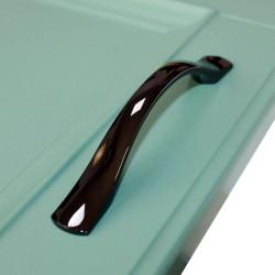 Ручка-скоба 96 мм черный никель                             SETE    (RM-142096-07)