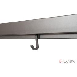 Крючок одинарный,цвет тефлон   HOOK    Boyard (SRH121/TFL)