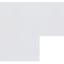 Угловой сегмент 860*860*38мм Бриллиант белый 1210/S