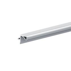 Профиль для навесных шкафов под 16 мм  4.05 м Матовый белый
