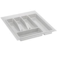 Лоток для столовых приборов белый 450 мм  (350-390) х (380-490)                   Ц.К.(32/72.N45/Bl)