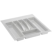 Лоток для столовых приборов белый 500 мм  (400-440) х (380-490)                   Ц.К.(32/72.N50/Bl)