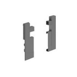 Соединители для передней панели H=144 внутреннего ящика , Антрацит          Hettich (9204259)