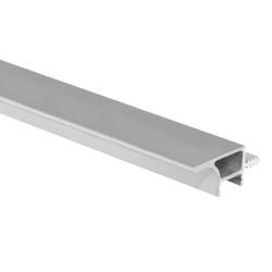 Профиль для навесных шкафов 16мм под диодную ленту  4 м алюминий