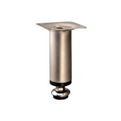 Ножка Н=100мм D30, никель  цилиндр.                                                         А (3366)