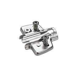 Монтажная планка H=0 мм с еврошурупом 3D  Sensys                      Hettich (9071665)