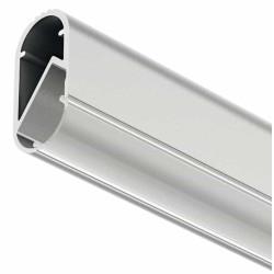 Профиль-штанга гардеробная для светодиодной ленты  алюминий  2,5м  (У23/3 отдельно) (833.72.790)