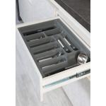 Лоток для столовых приборов серый 1100 мм  (1040x490x55)                  STARAX (S-2292)