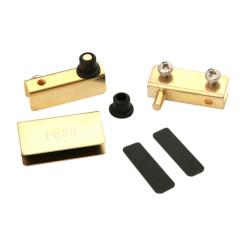 Набор д/стекл. двери золото (Без ручки)       (HG001/GP)  Boyard
