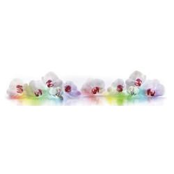 МДФ глянец стен .влагоустойч. 2800х600х6   Орхидея  радуга  (FM 015)
