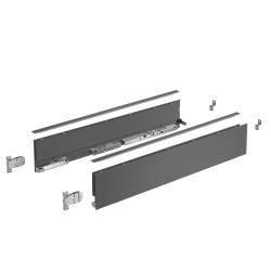 Комплект боковин Avantech You   450/101 мм , Антрацит (Направляющие отдельно!!!)  Hettich (9255328)