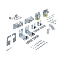 Комплект фурнитруы Top Line L для 2 дверей, передняя СЛЕВА, толщина двери 18-30 мм, 50 кг  (9242711)
