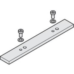 Соединительная планка ходового профиля Hawa-Folding Concepta 25, алюминий       Hafele (408.30.400)