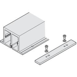 Усиливающий профиль Hawa-Folding Concepta 25, алюминий, 2600 мм                 Hafele  (408.30.970)