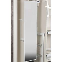 Зеркало поворотное H-160 мм белое (120х340х1300)                                   STARAX (S-6612-W)