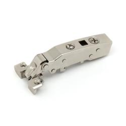 Петля  накладная  с доводчиком для алюминиевых рам   3D регулировк Hettich   (9072524+9071667)