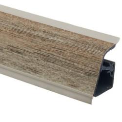 Плинтус столешницы Rehau 118 Малави коричневый  L=4,2м                                 (16239591003)