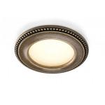 Светильник CLASSIC AKOYA 12V/3,4Вт, F18 Античная бронза