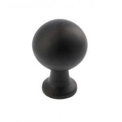Ручка кнопка NORD,черный матовый                                                 GTV (GZ-NORD-1-20М)