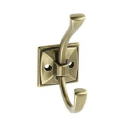 Крючок двойной, старое золото MADRYT                             GTV(WZ-MADRYT-04)
