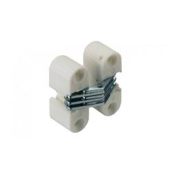 Петля скрытого монтажа для дсп 16 мм, цвет белый 11x33мм        HAFELE (341.04.700)