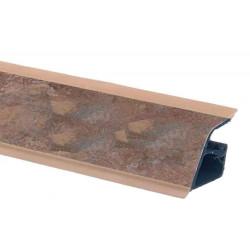 Плинтус столешницы Rehau 118 Карите коричневый  L=4,2м (16077641001)